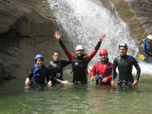 Canyoning in Corsica with Kariboo Adventure